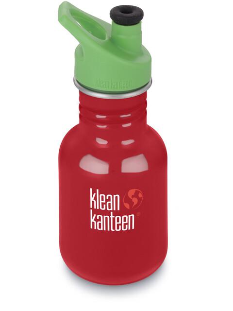 Klean Kanteen Kid Classic Bottle Sport Cap 3.0 355ml Mineral Red